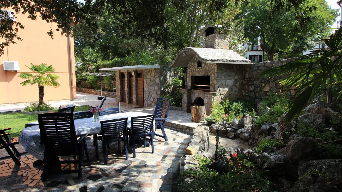 Apartmani Prosinečki otok Krk Malinska