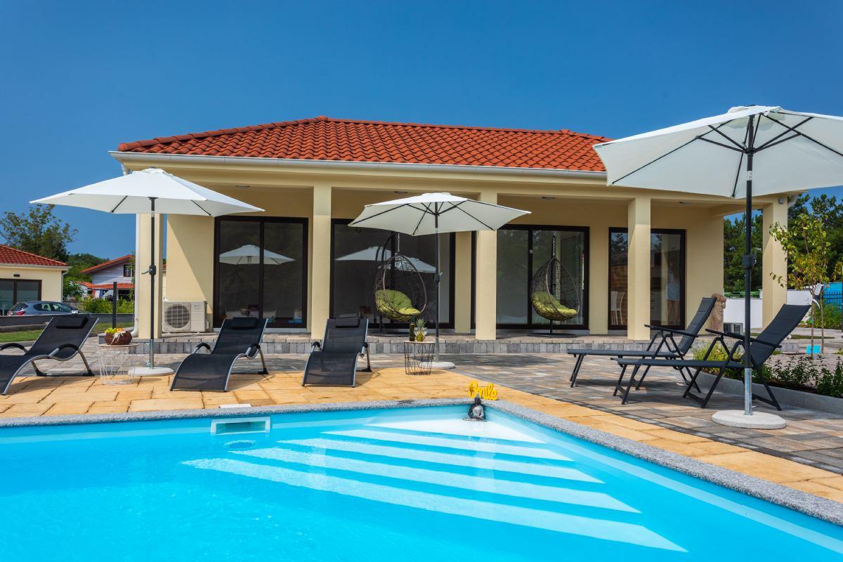 VSG Resort apartman A, otok Krk Klimno